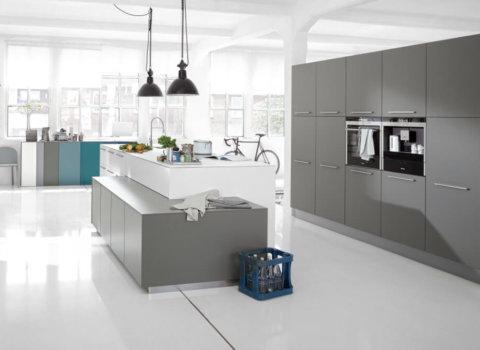 Logic kookeiland moderne keuken
