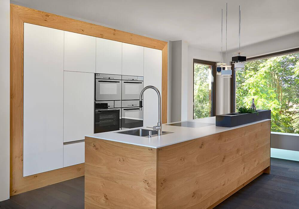 Houten keuken van BAX