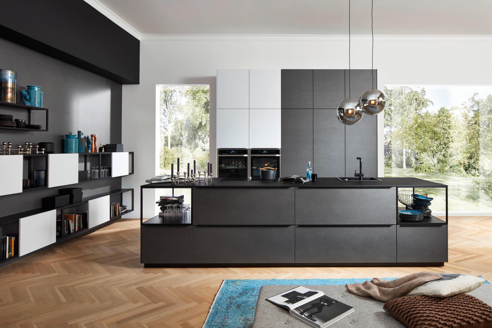 Designkeuken Koje 04 - Ferro Blaustahl